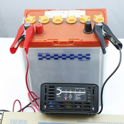 12V 10A Connect and Forget Leisure Battery Charger for Caravan Motorhome Boat