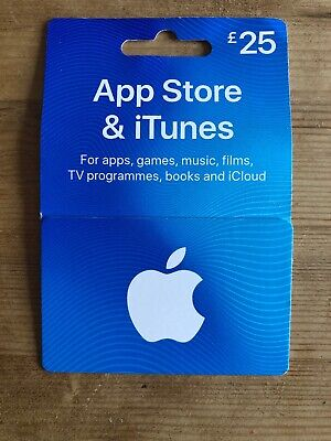 App Store & iTunes Gift Card £25