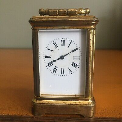 A French Miniature Carriage Clock By Margaine