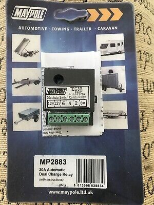 Mp2883 TEC3m Automatic Dual Charge Relay Split Charge Auto Sensing Relay