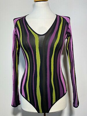 Wolford Multi Color Bodysuit , Size:S