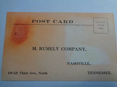 Rumely Company Postcard To Request Catalogs Steam Engine OilPull Catalogs