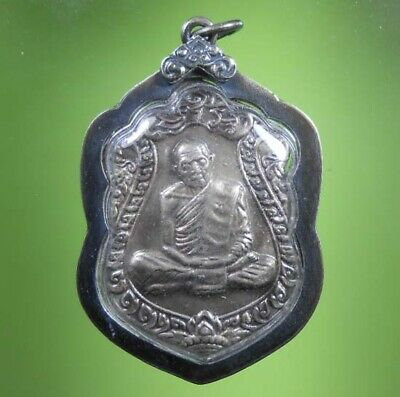 Perfect Lp Tim Old Thai Buddha Amulet Hot Pendant Rare !!!