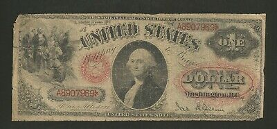 FR. 27 One Dollar ($1) Series of 1878 United States Note - Legal Tender