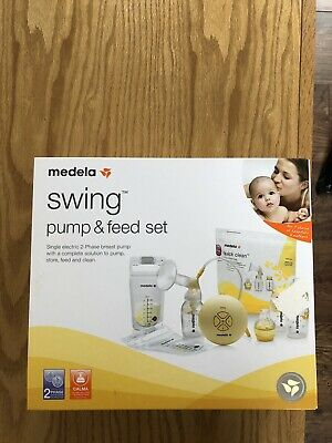 medela swing electric breast pump & Feed Set