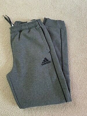 Boys Grey Adidas Tracksuit Bottoms (Joggers) Age 13-14 Years New With Tags