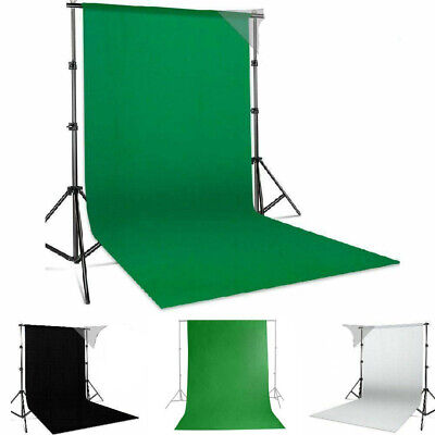 1.6*3M Photography Backdrop Background Fabric Screen Studio Non-Woven Sheet UK