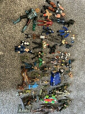 Job Lot Of Toy Figures Mixed Items Have A Look