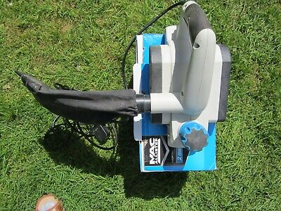 MAC ALLISTER MSP750 2mm 750W wood planer with dustbag and toolkit