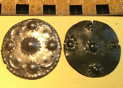 SILVER SHIELD + BRONZE INSET Ancient  Viking or Celtic ENGLAND