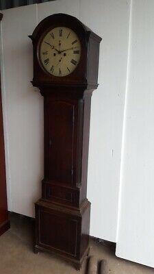 19th Century Oak Longcase Clock