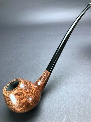 Road Town Churchwarden Reading Style Briar wood Craft Pipe--unsmoked