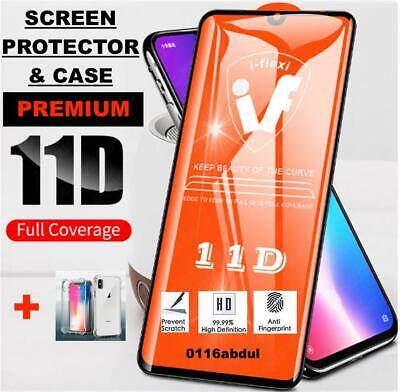 Tempered Glass SCREEN PROTECTOR + CASE iPhone X, XR, XS, 11 PRO MAX FULL COVER