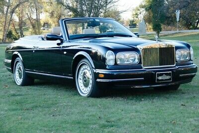 2001 Rolls-Royce Corniche  2001 Rolls-Royce Corniche, Black Sapphire with 36,940 Miles available now!