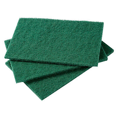 """Royal Green 6"""" x 9"""" Medium Duty Scouring Cleaning Pads, Case of 60, S980"""