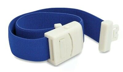 Emergency Blood Loss Elasticated Quick Release Medical Tourniquet - Blue