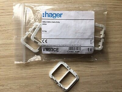 HAGER Consumer Unit Fittings