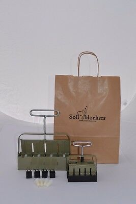 Soil Blocking Gardening Gift Set Green