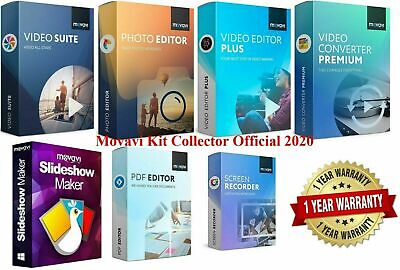 📢Offer📣Movavi Kit Collector Official 2020 (License Activated)✅