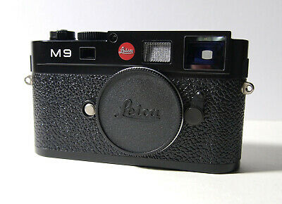 Leica M9 Black Body Boxed with Accessories . Sensor Fault