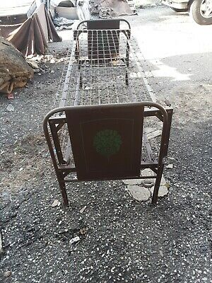 Antique Daybed Metal Trundle Twin Bed