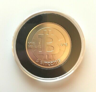 "Casascius 5 Bitcoins (BTC) ""Roll Your Own"" - Purchased from Casascius!"