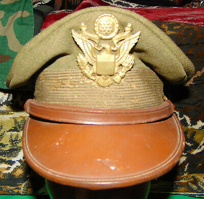 1934 Dated and Named US Army Officers Cap Hat