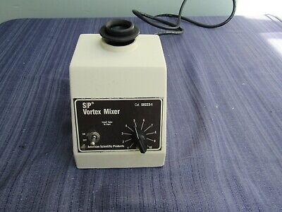American Scientific Products  S/P Vortex Mixer Touch Mode genie S8223-1 2 avail.