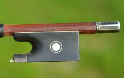 Old French Violin Bow stamped '' TOURTE '' silver mount