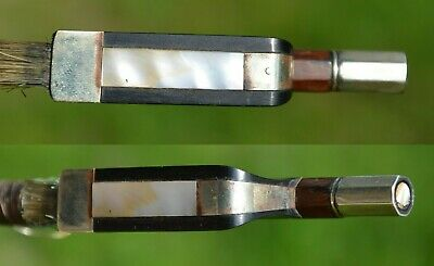 Old French Violin CELLO Bow with gold mount - excellent condition