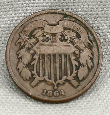 1864 Two Cent Piece! No Reserve!
