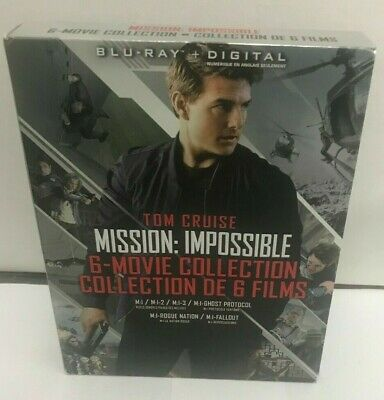 (LUP) Mission Impossible 6 Movie Collection Blu-ray