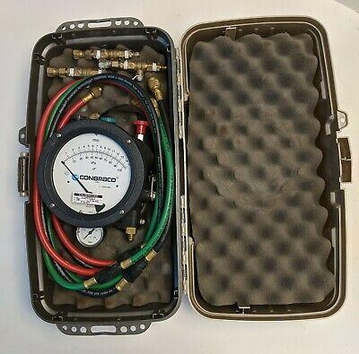 Conbraco 40-200-TKU Backflow Test Kit with case and accessories (Mid-West 845-3)