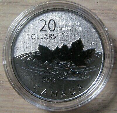2012 Specimen $20 for $20 #5-Farewell Penny Canada .9999 silver COIN ONLY twenty