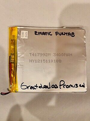 Original Battery for Ematic FunTab EGQ235 Tablet