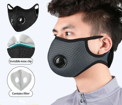 New Activated Carbon Face Shield Dust Proof Filter Outdoors Face Cover