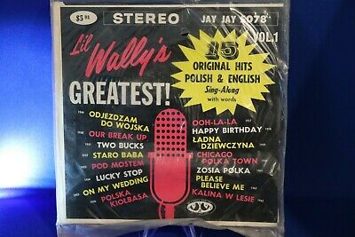 NEW Sealed LIL WALLY Polka COMPACT 33 JAY JAY 5078 JUKEBOX EP w STRIPS Unopened