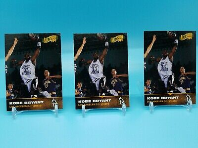 KOBE BRYANT High School Rookie AllSport PPF. Lot of 3 cards! Fantastic condition