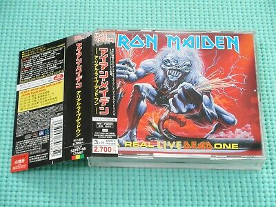 IRON MAIDEN Real Live Dead One Remastered Enhanced 2CD 2006 Japan TOCP-53767 OBI