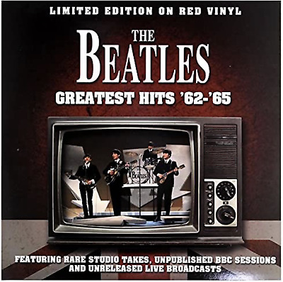 Beatles Greatest Hits 1962-65 - NEW SEALED RED Vinyl! Limited Edition! Import