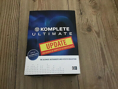 New Sealed Native Instruments Komplete 10 Ultimate, UPDATE from KU 8-9 500gb HD