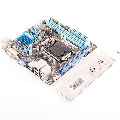 NEW Asus P8H61-I LX R2.0/RM/SI Mini ITX PC Motherboard LGA 1155 with I/O Shield