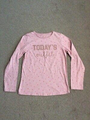 PRIMARK Girls long sleeve top in Pink - aged 12-13yrs