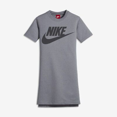 Nike Sportswear Modern Older Kids Dress  12-13 Yrs Stealth/Anthracite RRP£47.95