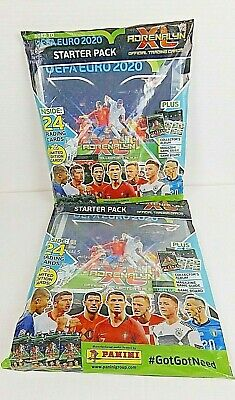 Panini Adrenalyn XL ROAD TO UEFA EURO 2020 Starter Pack, 26 trading cards