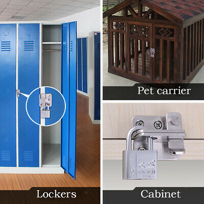 1pc Door Latch Lock Safety Guard Door Security Staple Indoor for Furniture