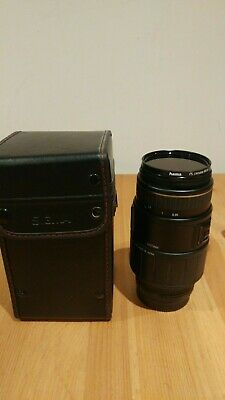 Sigma APO 70-300mm AF Zoom lens with Macro Gold band edition