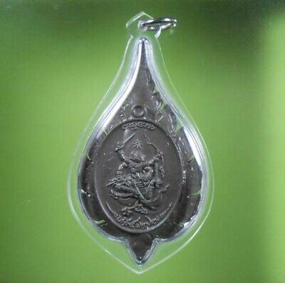 Perfect Hanuman Lp Tim Old Thai Amulet Pendant Very Rare !!!