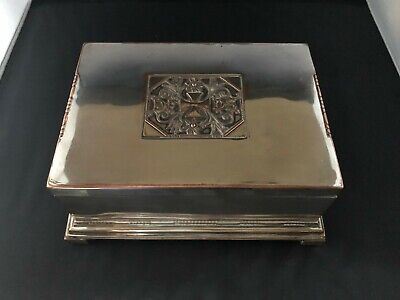 Very Rare Georg Jensen DFDS Silver Plate box from 1916