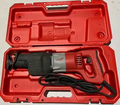 Milwaukee 6536-21 Orbital Super Sawzall with Hard Plastic Case